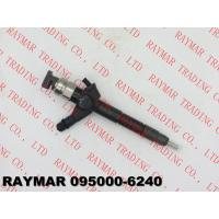 Quality DENSO Genuine common rail injector 095000-6240, 095000-6243 for NISSAN 16600-VM00A, 16600-VM00D, 16600-MB40E for sale