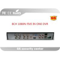 China H264 Unreal Time 1080n 8 Channel Cctv Dvr Recorders Cloud Alram Information Push To Phone wholesale