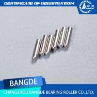 Quality Precision high carbon steel Rollers Pin , 3*2.95mm, Flat end needle rollers for sale