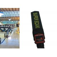 China Portable Airport Hand Held Metal Detector Wand Body Security Scanner With Sound on sale