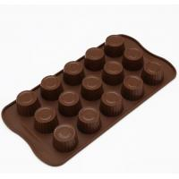 China Make Your Own Plastic Chocolate Molds , Chocolate Ball Mold Anti Bacetrial wholesale