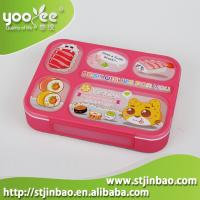 Plastic Leakproof for every 6 Compartments Lunch Bento Box with Spoon