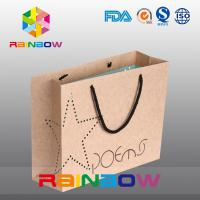 China Promotional Printed Gift Paper Bag / Custom Christmas Paper Shopping Bags for Cloths wholesale
