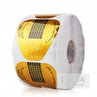 China High Sticky Acrylic Nail Forms 500 Pieces Per Roll Extension Shaping wholesale