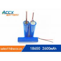 China 18650 3.7V 2000mAh rechargeable li-ion battery manufacturer wholesale