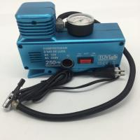 China AC110 - 230V and DC12V Plastic Vehicle Air Compressors with Gauge , Car Air Compressor wholesale