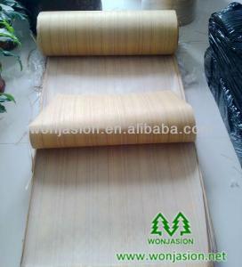 China Teak Engineered Veneer , 2*8 ' size veneer on sale