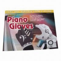 Quality Piano Music Gloves with 20 Distinct Background Rhythms and 8 Different Musical Instrument Tones for sale