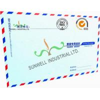 China Offset Paper Custom Printed Business Return Envelopes With Multi Color Edge wholesale