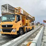 China 19-22m Platform Type Bridge Inspection Detection Truck / Concrete Pumping Equipment wholesale