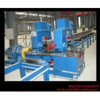 China Mechanical Power Type H Beam Straightening Machine For H Beam Flange Straightening wholesale