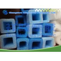 China Square Shape Cylinder Foam Pipe Insulation For Transportation Protection wholesale