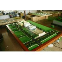 Quality School Planning Miniature Architectural Model Maker , Football Stadium Planning Scale Model for sale