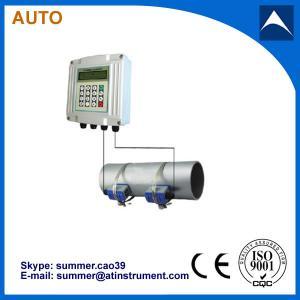 China wall mounted Ultrasonic Flowmeter/ ultrasonic transducer flow meter wholesale