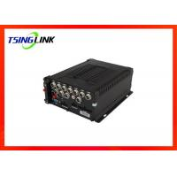 China GPS Hard Disk Recording Playback DVR Support OSD Menu 4G Vehicle 8CH MDVR wholesale