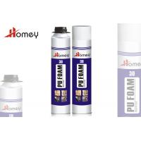 China Filling Gaps / Cracks Expanding PU Foam Sealant With Good Insulation For Wood on sale