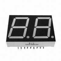 China 7-segment Numeric LED Display in Dual-digit, 0.8-inch Digit Height, Used for Rate Screens wholesale