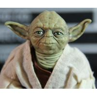 China Star Wars Jedi Knight Master Yoda PVC Action Figure Collectible Model Toy Doll Gift 12cm wholesale