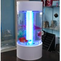 China Fishion polishing acrylic fish tank removable with led light wholesale