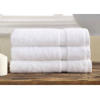 China Professional Hotel Bath Towels / Personalized Bath Towels Set With Super Absorbency wholesale