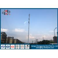 China 4G Signal Wireless Communication Towers Monopole Cell Tower Iso Certification wholesale