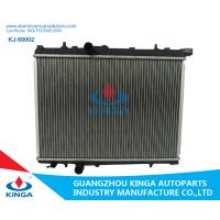 China 16 /22/26 Mm Core Thickness Aluminium Car Radiators For Peugeot 206 Mt wholesale