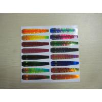 China Holographic Reflective Head Back Printed Adhesive Labels in Fishing Lure wholesale