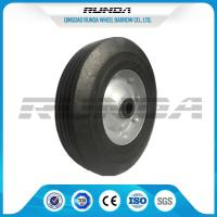 China Tubeless 6inch Wheelbarrow Solid Tire Offset Hub Easy Replacement For Lawn Mower wholesale