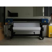 China DX5 Epson Head Eco Solvent  Inkjet Printer 1.8M With Interface USB 2.0 for home decorations wholesale