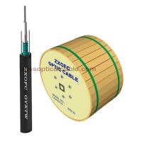 China Duct Aerial Direct Burial Fiber Optic Cable Single Mode GYXTW 4 6 8 12 Core wholesale