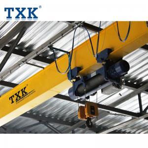 China Electric Hoist 5 Ton Overhead Crane / Single Girder Industrial Overhead Crane wholesale