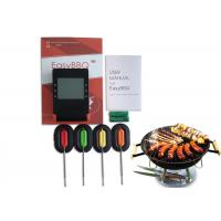 China Stainless Steel Probes BBQ Meat Thermometer For Smoker Temp Conversion Smart Devices on sale