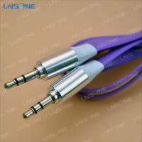 China Male to male 3.5mm plug stero cable wholesale