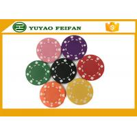China Professional Heart Casino ABS Poker Chips For Playing Game Set wholesale