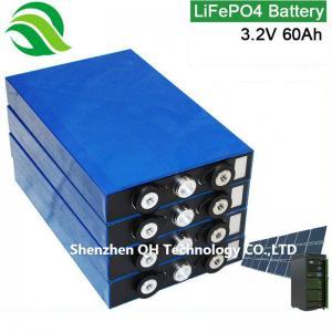 China Solar/Wind/UPS/EV/Inverter/Backup Power/Family Mobile Generator/Portable Power Station 3.2V 60Ah LiFePO4 Batteries Cell on sale