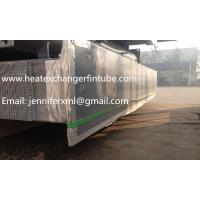 China Carbon Steel Base Tube Material Single Row Flat Fin Tube Hot Dip Galvanized on sale