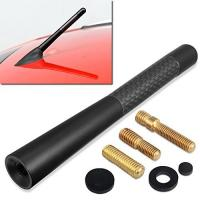 Buy cheap High end  Carbon Fiber Vehicle Car AM/FM Radio Antenna Universal Replacement carbon fiber auto part for car from wholesalers