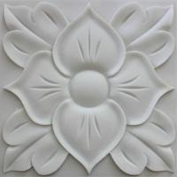 China 3D natural white feature carved stone wall art panels wholesale
