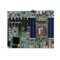 China 2 Ethernet LAN 10 SATA3.0 NVR mainboard Supports Xeon-E5 V3 CPU motherboard wholesale