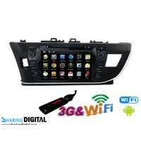 China Pure Android for Toyota DVD GPS Car Radio with FM AM RDS DVR rear view camera wholesale