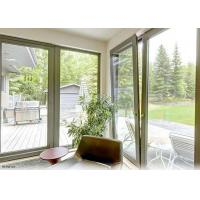 China Horizontal Casement Aluminium Tilt And Turn Windows Double Glazed Sound Insulation on sale