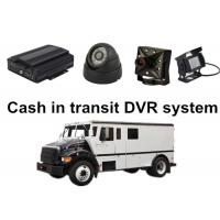 China Cash in transit 4 Camera Car DVR System For Bank or Government Project wholesale