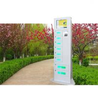 China High End Remote Access Mobile Charging Station With Ads Function For Train Station on sale