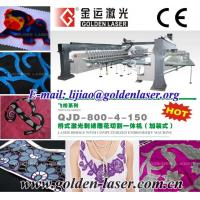 China Laser 3D Embroidery Machine,Kiss Cutting,Layered Embroider wholesale
