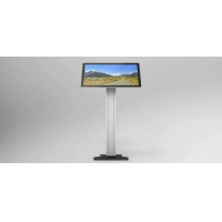 China 18inch 21.5inch Free Standing Touch Screen Kiosk 400CD/M wholesale