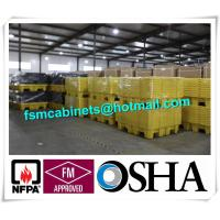 China 4 Drum HDPE Spill Pallet Poly Spill Pallet, Drum Spill Containments pallet for Oil Tank wholesale