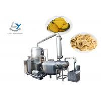 China Stainless Steel 304 Automatic Snacks Frying Machine No Color Fading , Jujube Vacuum Fryer wholesale