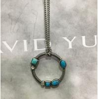 China (N-99) Fashion Rhodium Plated Turquoise Charm Pendant Necklace for  Women wholesale