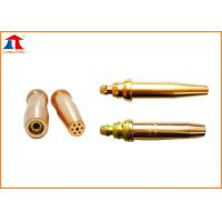 China Gas Cutting Torch Nozzle For Acetylene / Propane on sale