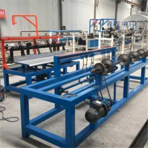 China 9KW 4.0m Wire Mesh Machine Diamond Shape Chain Link Fence Weaving wholesale